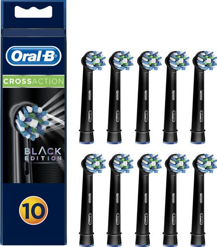 Oral-B Cross Action zwarte opzetborstels (10 stuks) Main Image