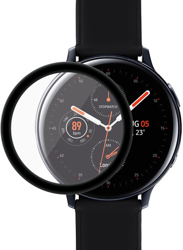 PanzerGlass Samsung Galaxy Watch Active2 44mm Screenprotector Glas Zwart Main Image