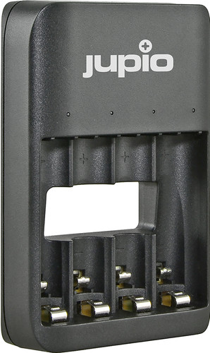 Jupio USB 4-slots Battery Charger LED Main Image