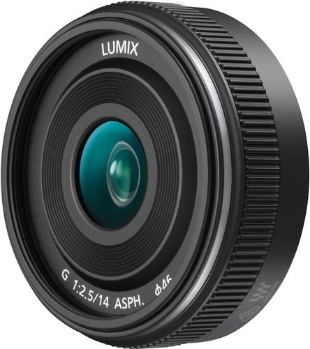 Panasonic Lumix G 14mm f/2.5 II ASPH Black Main Image