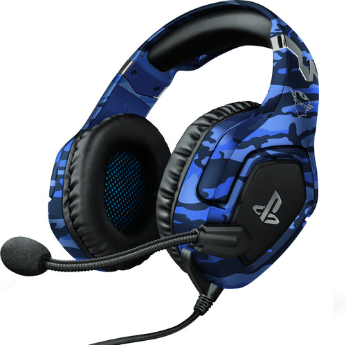 Trust GXT 488 FORZE Official Licensed - Playstation 4 en 5 Gaming Headset - Blauw Main Image
