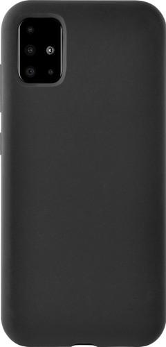 Azuri Siliconen Samsung Galaxy A71 Back Cover Zwart Main Image