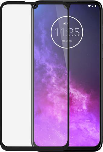 Azuri Rinox Motorola One Zoom Screenprotector Gehard Glas Zwart Main Image
