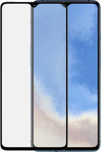 Azuri Rinox OnePlus 7T Screenprotector Gehard Glas Zwart Main Image