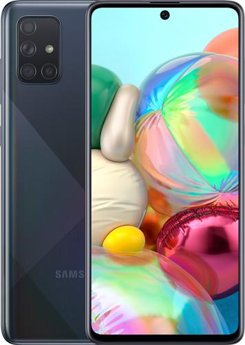 Samsung Galaxy A71 128 GB Zwart Main Image