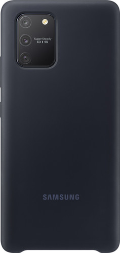 Samsung Galaxy S10 Lite Silicone Back Cover Zwart Main Image