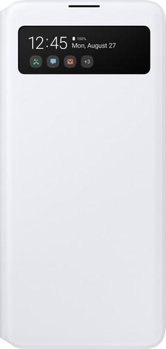 Samsung Galaxy A51 S View Book Case White Main Image