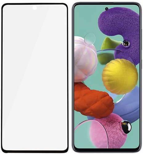 PanzerGlass Case Friendly Samsung Galaxy A51 Screenprotector Glas Zwart Main Image
