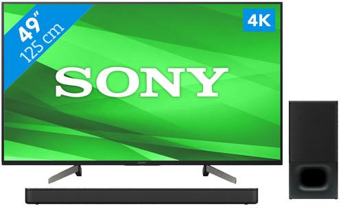 Sony KD-49XG8305 + Soundbar Main Image