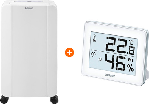 Qlima D 210 + Hygrometer Main Image