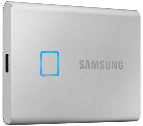 Samsung T7 Touch Portable SSD 2TB Silver Main Image