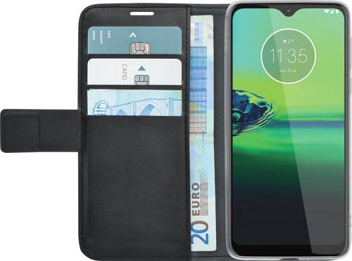 Azuri Motorola Moto G8 Plus Book Case Zwart Main Image