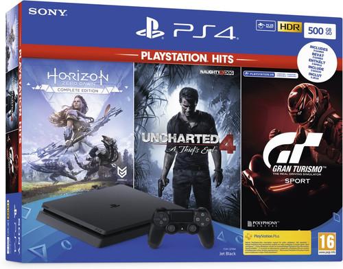 Sony PS4 Slim 500 GB PlayStation Hits bundel (3 games) Main Image