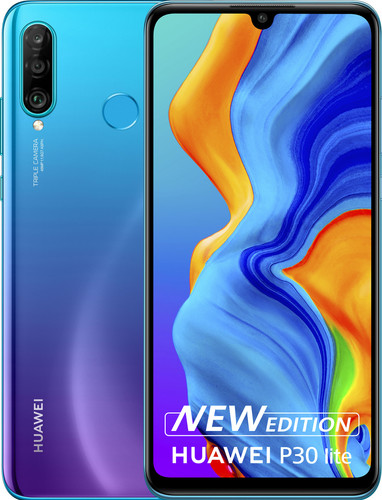 Huawei P30 Lite New Edition 256 GB Blauw Main Image