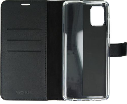 Valenta Samsung Galaxy A51 Book Case Leer Zwart Main Image