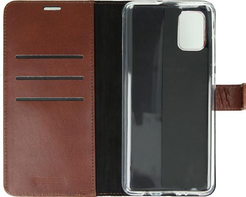 Valenta Samsung Galaxy A71 Book Case Leer Bruin Main Image