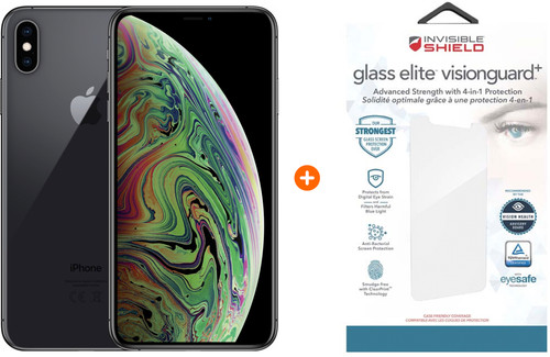 Apple iPhone Xs Max 64GB Space Gray + InvisibleShield Glass Main Image