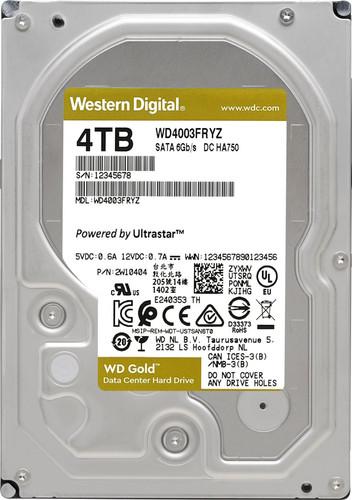 WD Gold WD4003FRYZ 4TB Main Image