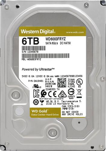 WD Gold WD6003FRYZ 6TB Main Image