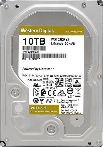 WD Gold WD102KRYZ 10TB Main Image