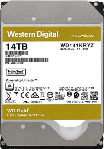 WD Gold WD141KRYZ 14TB Main Image