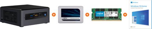 Barebone pakket - Intel NUC8i3BEH + Windows 10 + 16GB RAM + 1TB SSD Main Image