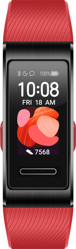 Huawei Band 4 Pro Zwart/Rood Main Image