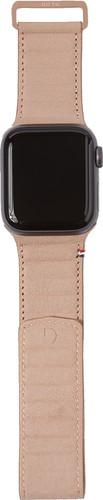 Decoded Apple Watch 40mm/38mm Leren Bandje Crème Main Image