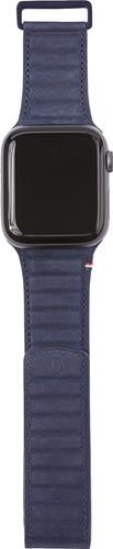 Decoded Apple Watch 44mm/42mm Leren Bandje Blauw Main Image