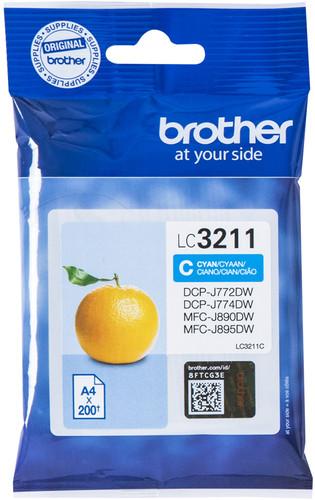 Brother LC-3211 Cartridge Cyan Main Image