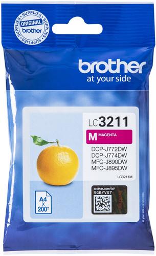 Brother LC-3211 Cartridge Magenta Main Image
