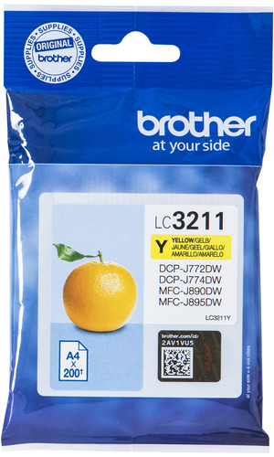 Brother LC-3211Y Cartridge Yellow Main Image