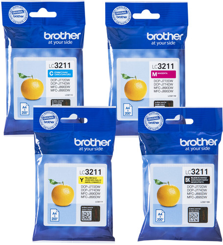 Brother LC-3211 Cartridges Combo Pack Main Image