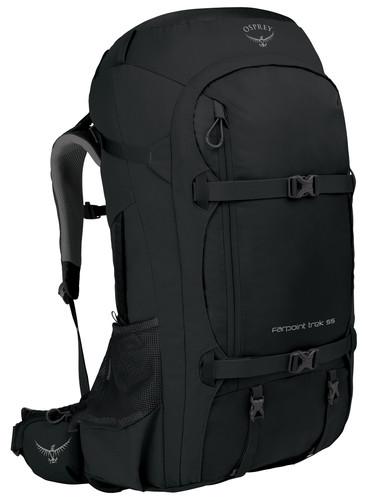 Osprey Farpoint Trek 55L Black Main Image
