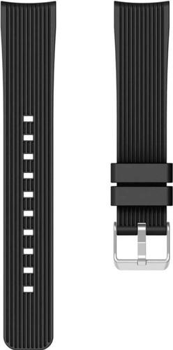 Just in Case Huawei Watch GT 2 42mm Silicone Bandje Zwart Main Image