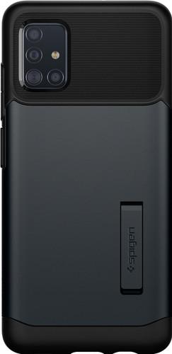 Spigen Slim Armor Samsung Galaxy A51 Back Cover Zwart Main Image