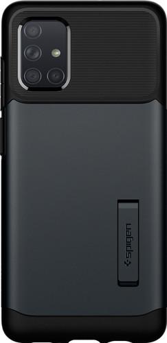 Spigen Slim Armor Samsung Galaxy A71 Back Cover Zwart Main Image