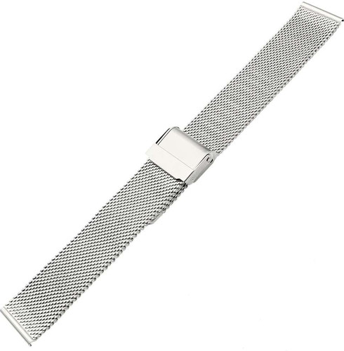 Just in Case Huawei Milanese Strap Silver 20mm Main Image