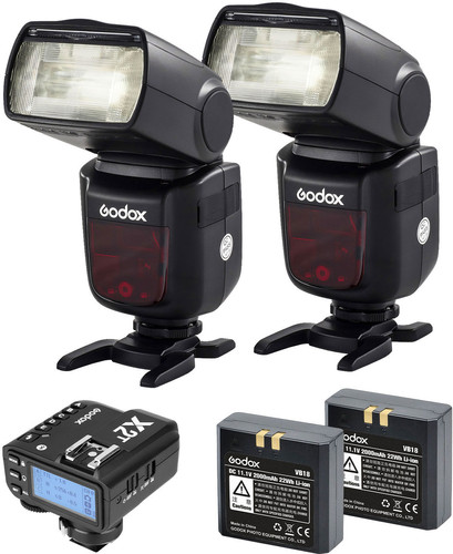Godox Speedlite V860II Nikon Duo X2 Trigger Kit Main Image