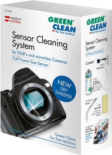 Green Clean Sensor Cleaning Profi Kit Full Frame Size Main Image