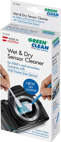 Green Clean Sensor Cleaner Wet Foam & Dry Sweeper Full Frame Size (4 stuks) Main Image