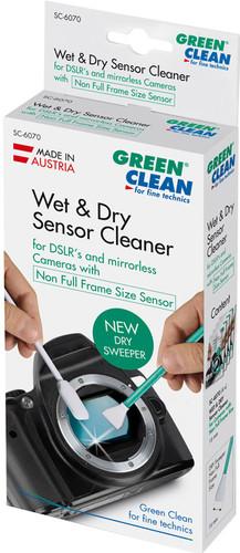 Green Clean Sensor Cleaner Wet Foam & Dry Sweeper Niet-Full Frame Size (4 stuks) Main Image