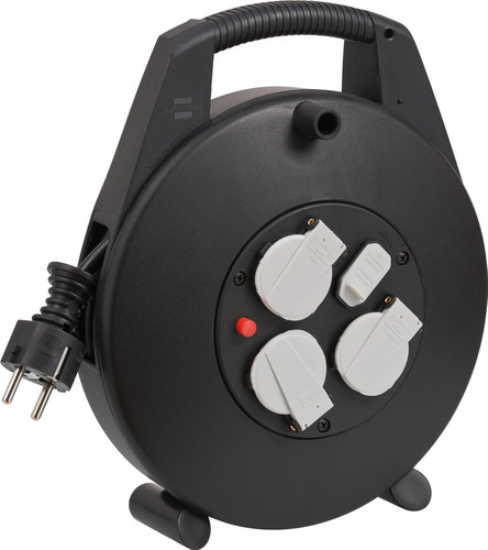 Brennenstuhl Vario Line Cable Reel with USB 10m Main Image