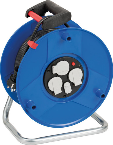 Brennenstuhl Garant Compact Cable Reel with USB 50m Main Image