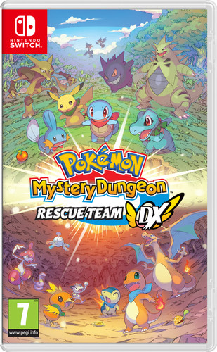 Pokemon Mystery Dungeon: Rescue Team DX Main Image