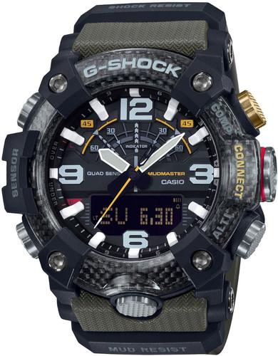 Casio G-Shock Mudmaster GG-B100-1A3ER Black/Green Main Image
