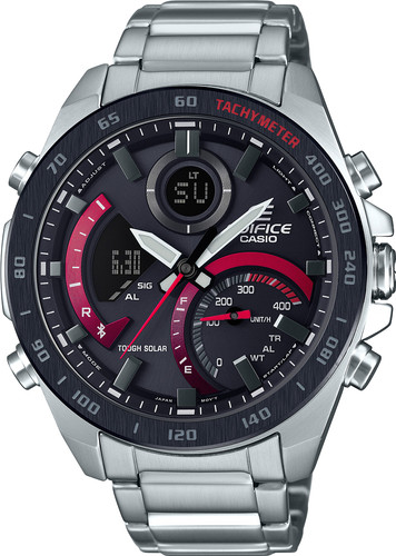 Casio Edifice Bluetooth ECB-900DB-1AER Silver 52mm Main Image