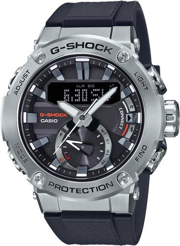 Casio G-Shock G-Steel GST-B200-1AER Silver/Blue Main Image