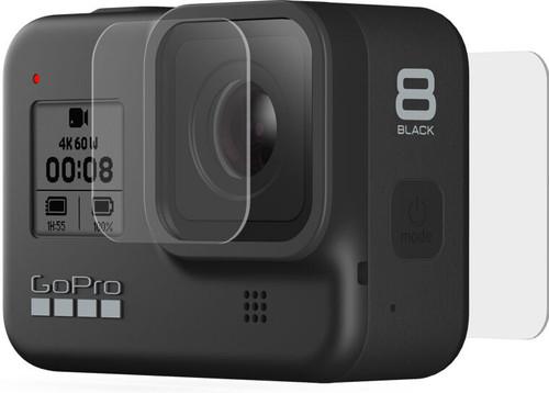 Tempered Glass Lens + Screen Protector - HERO 8 Black Main Image