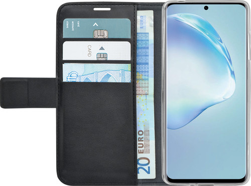 Azuri Wallet Samsung Galaxy S20 Book Case Zwart Main Image